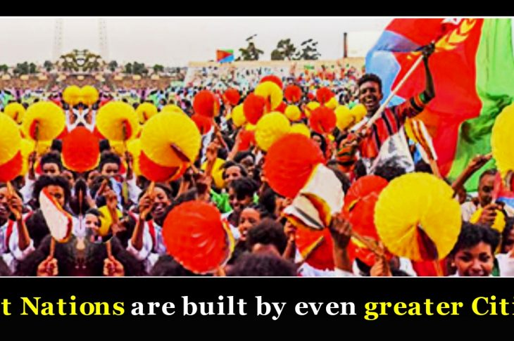 Great Nations are built by even greater Citizens