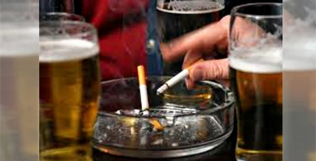 Dual Problems: The story of a drunk and a smoker