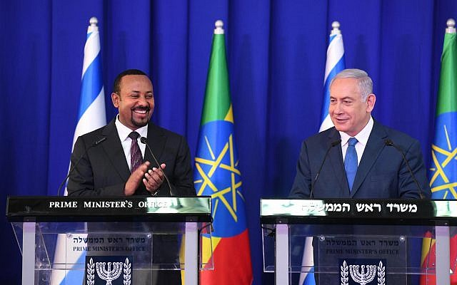 Netanyahu says he discussed deportation of Eritreans with Ethiopian PM
