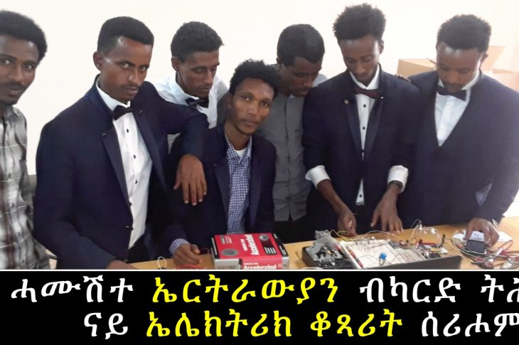 Five Electro Technician From Eritrea