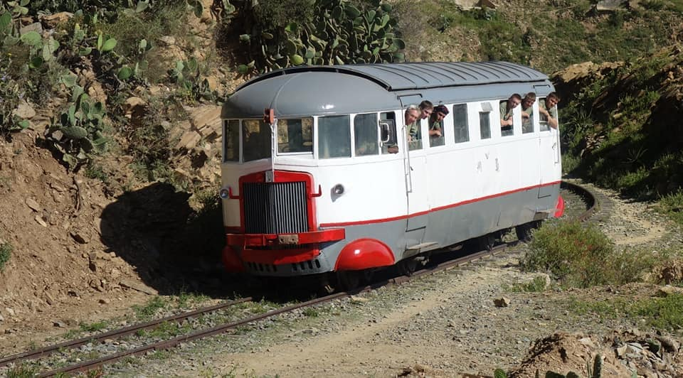 Asmara Italian railcar from the 1930s.