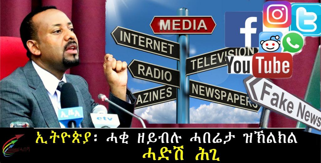 Ethiopia's Cabinet Approves New Law to Fight False Information