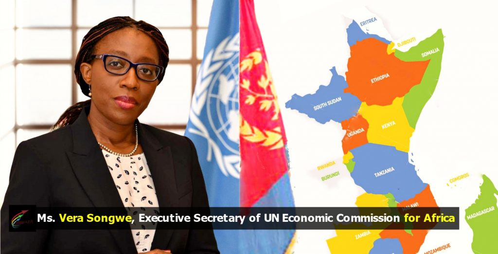 Ms. Vera Songwe, Executive Secretary of UN Economic Commission for Africa