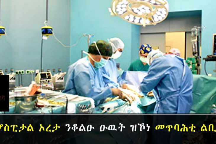 Successful cardiac surgery on children was carried out at Orotta Referral Hospital