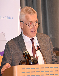 Mr. Andrew Mold, Officer-in-Charge, UNECA office for Eastern Africa