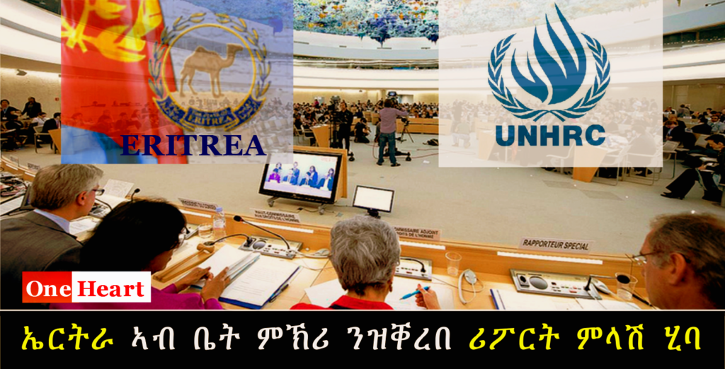 Eritrea's Response to the Report of the Special Rapporteur