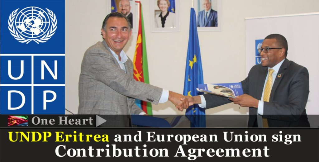 UNDP Eritrea and European Union sign Contribution Agreement