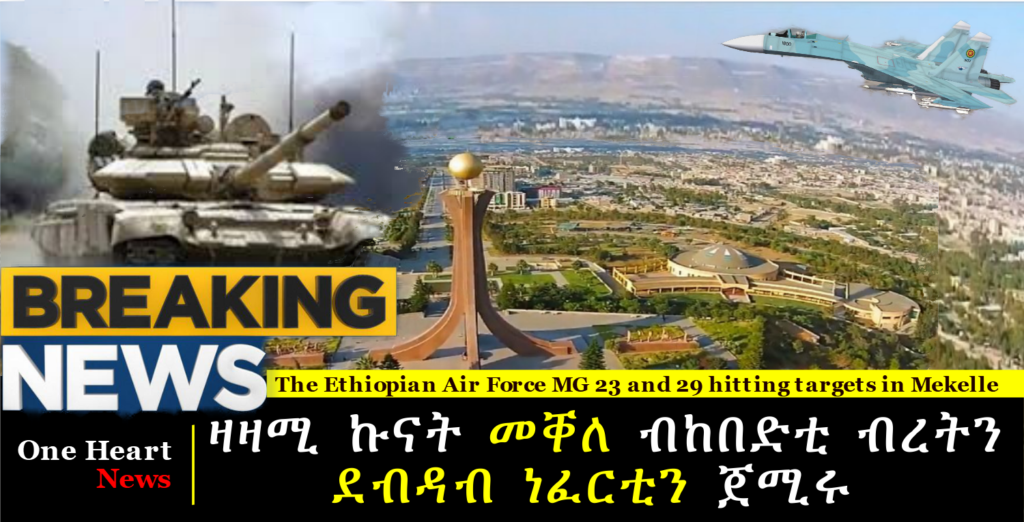 A campaign launched to take control of Mekelle