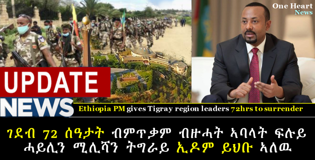Using the time limit set by the government many members of the Tigray militia and special forces are surrendering