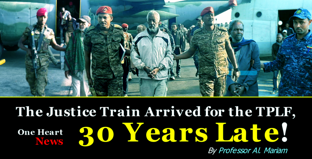 The Justice Train Arrived for the TPLF, 30 Years Late!