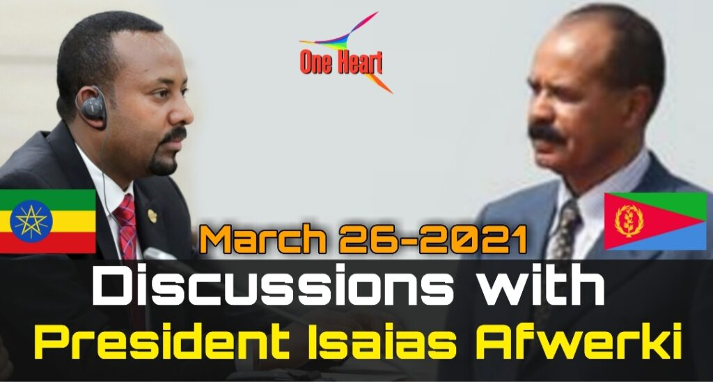 Discussions with President Isaias